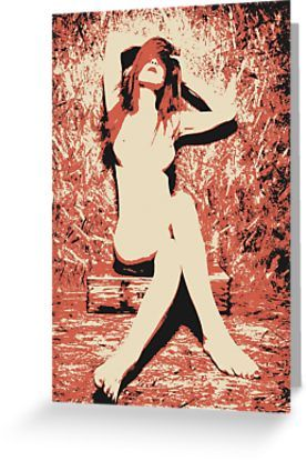 Fire Inside - naked girl conte by piciareiss - Also Available as T-Shirts & Hoodies, Men's Apparels, Women's #Apparels, Stickers, iPhone Cases, Samsung Galaxy Cases, Posters, Home Decors, Tote Bags, Pouches, Prints, Cards, Mini Skirts, Scarves, iPad Cases, Laptop Skins, Drawstring Bags, Laptop Sleeves, and Stationeries #art #kinky #naughty #sexy #hot #dirty #redbubble #postcards #collectibles