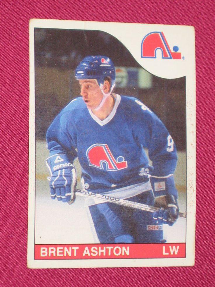 1985-86 #170 Brent Ashton, O-Pee-Chee OPC Quebec Nordiques, NHL Hockey Card | eBay