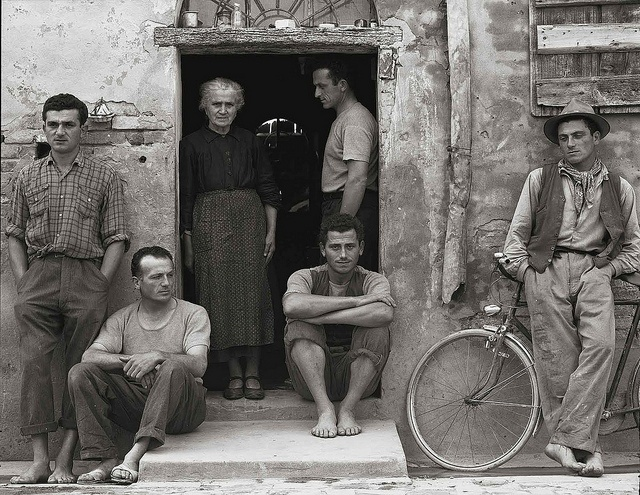 The Family, Luzzara, Italy, 1953, by Paul Strand