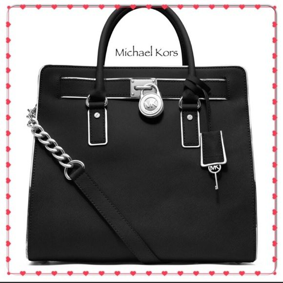 Shop Women s Michael Kors Black size Large Bags at a discounted price at  Poshmark. Description 7e3dd91dcd