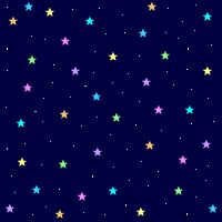 glitter animated star background | Animated Graphics for your Myspace or Piczo