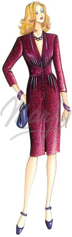 Marfy - Dress 2943