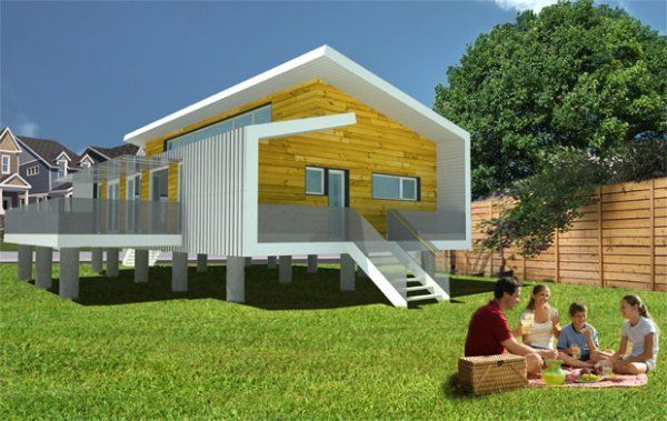 Inexpensive Disaster Proof Homes Hurricane Proof Design Safe House Design Hurricane Proof House Passive House Design
