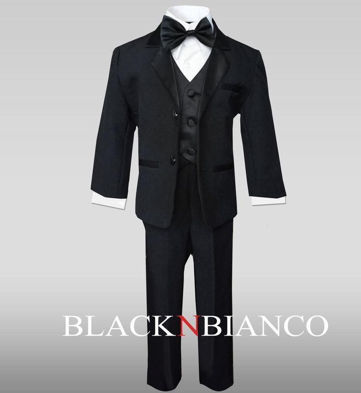 Black N Bianco - Ring Bearer Outfit Boys Tuxedo in Black, $19.99 (http://www.blacknbianco.com/ring-bearer-outfit-boys-tuxedo-in-black/)