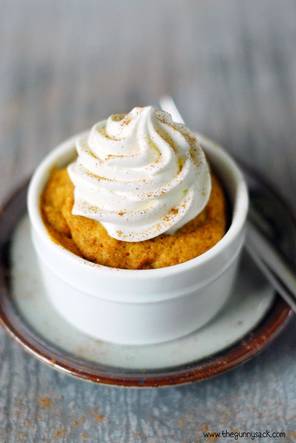 Easy Pumpkin Mug Cake Recipe: 4 ingredients and 60 seconds to cook!