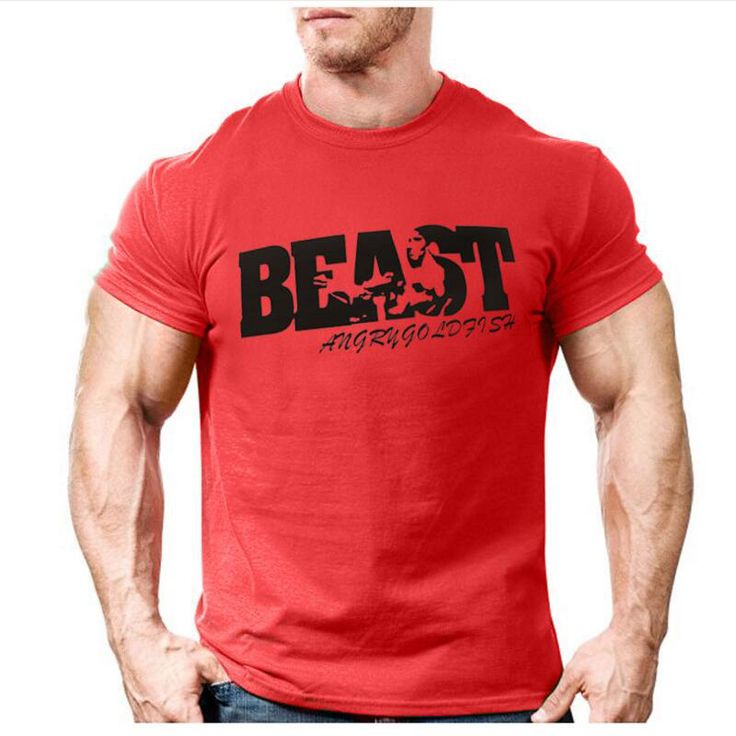 New Arrival Creative Art Design Beast t shirt for Men Summer short sleeve cool shirts 100. Click visit to buy #T-Shirts