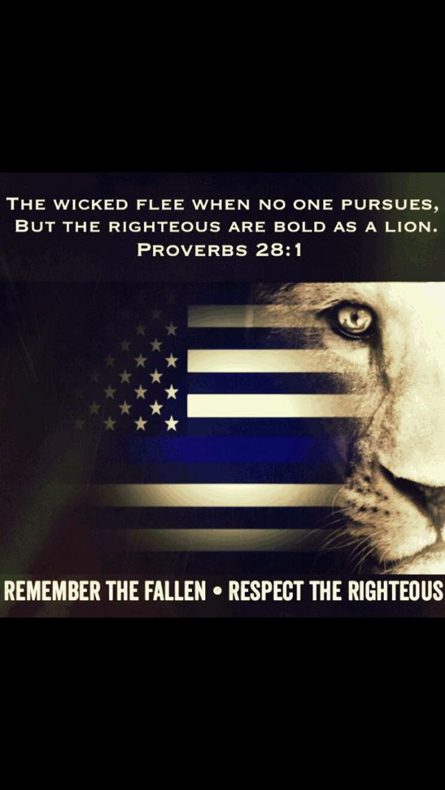 The wicked flee when no one pursues