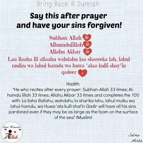 Bring back a sunnah