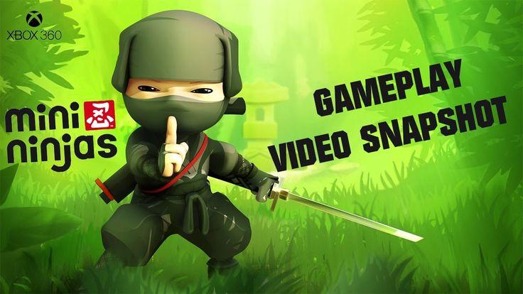 Mini Ninjas XBOX 360 Gameplay Video Snapshot 1080p 60fps