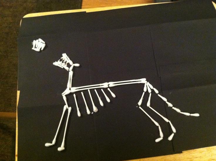 My werewolf skeleton!   Werewolf, Crafts, Skeleton
