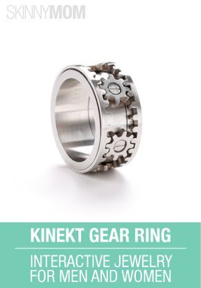 Check Out This Kinekt Gear Ring Kinekt Design Is