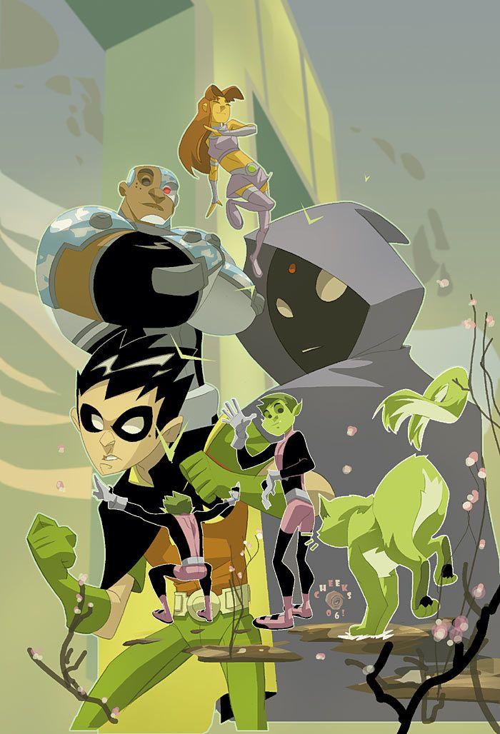 Teen Titans by Sean Galloway