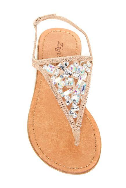 Jewelled Sandal