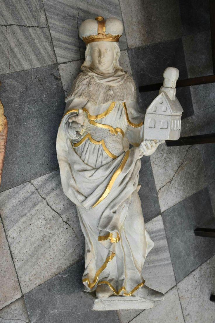 Rzeźba z ołtarza głównego