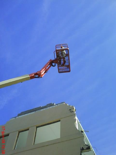 High in the sky: Demolition, Sky, High