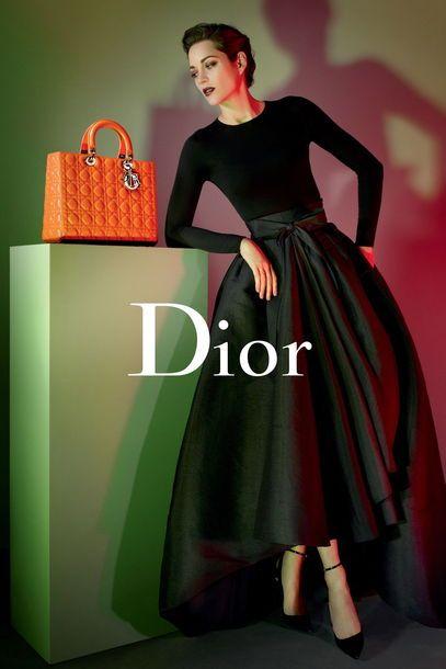 La falda, la cartera, just Dior