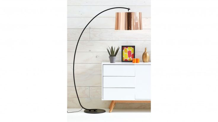 Broodie floor lamp table lamps lighting furniture for Lamp table harvey norman