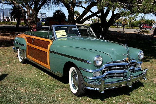 Sausalito Classic Car Show - 1940's Chrysler Town and Country by growler2ndrow, via Flickr