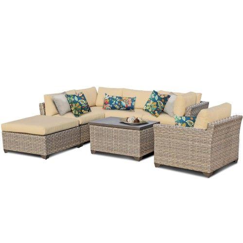 Best Hampton 7 Piece Outdoor Wicker Patio Furniture Set 07D 400 x 300