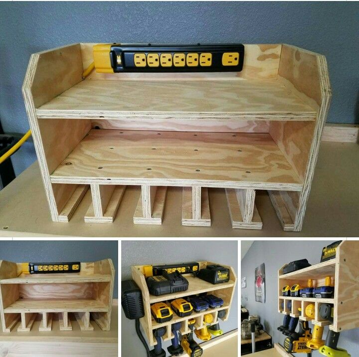 Charging station/ Tool holder   https://m.facebook.com/braswellcustomdesigns/