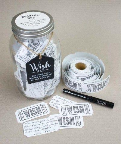 Wish Jar - Wedding Day