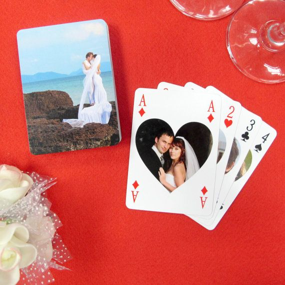 Personalized playing card favors Custom by WeddingPrinterStudio, $7.99