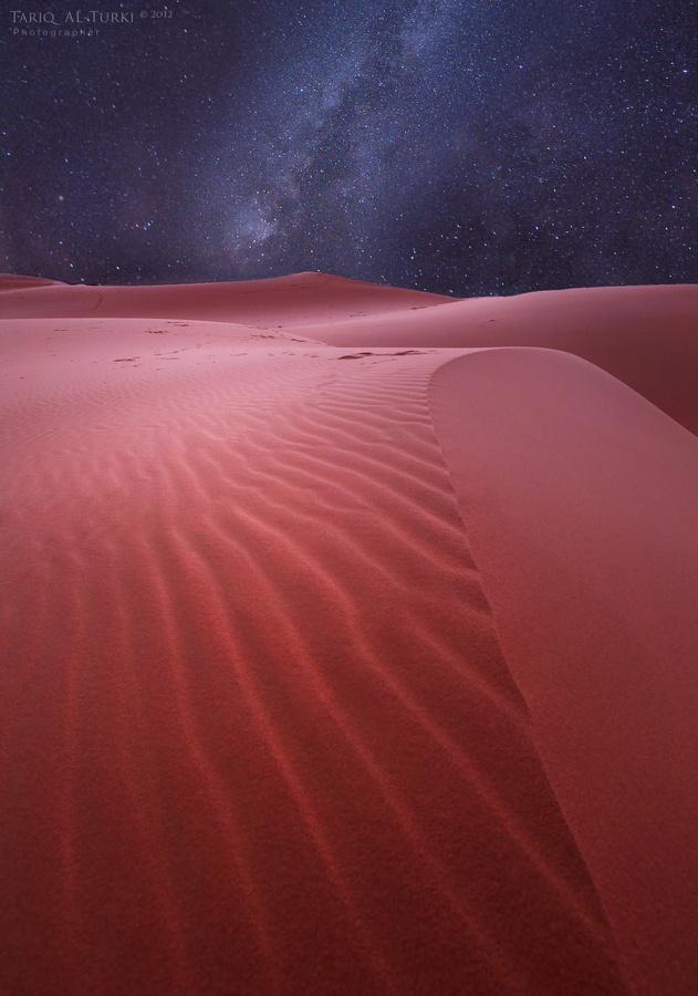 ".~500px / Photo ""Desert & stars"" by Tarik AlTurki~. @adeleburgess"