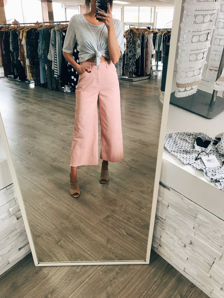 RES Denim - Andy Ankle Culottes