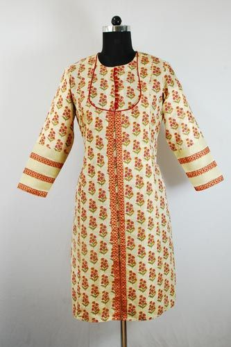 Designer Angrakha Formal kurti  for diwali