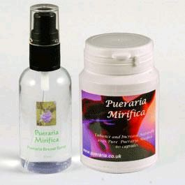 Our #Pueraria #Mirifica #Breast #Spray targets the breast tissues directly. Because it's 100% natural, it works for all types of skin and is suitable for anyone.