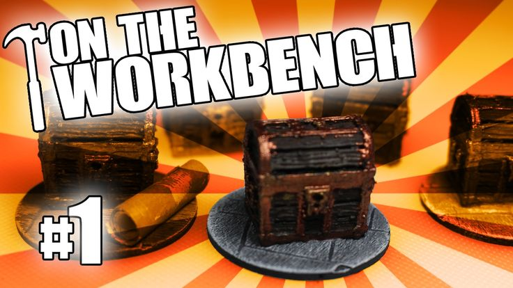 On the Workbench #1 - 3D Printing Frostgrave Treasure Tokens with Hobgob...