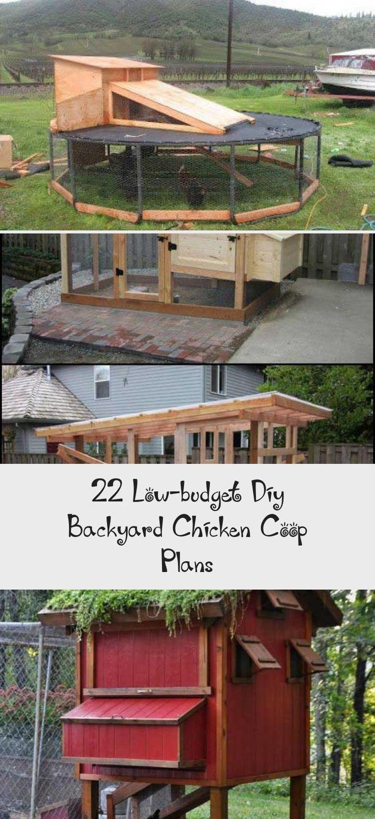 22 Low-budget Diy Backyard Chicken Coop Plans in 2020 ...