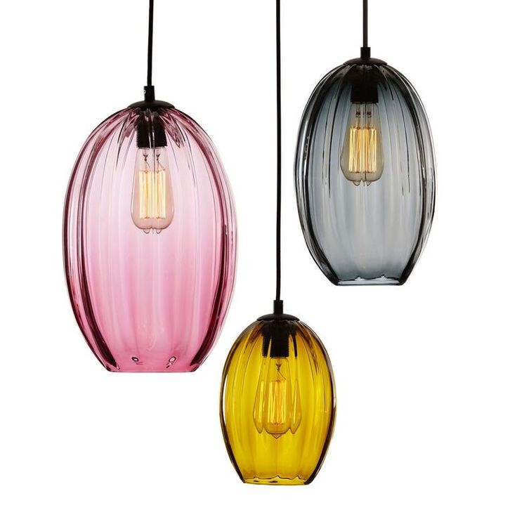 -------MODERNIST OVAL------- Handblown oval glass with a pronounced exterior ribbing and flat opening.