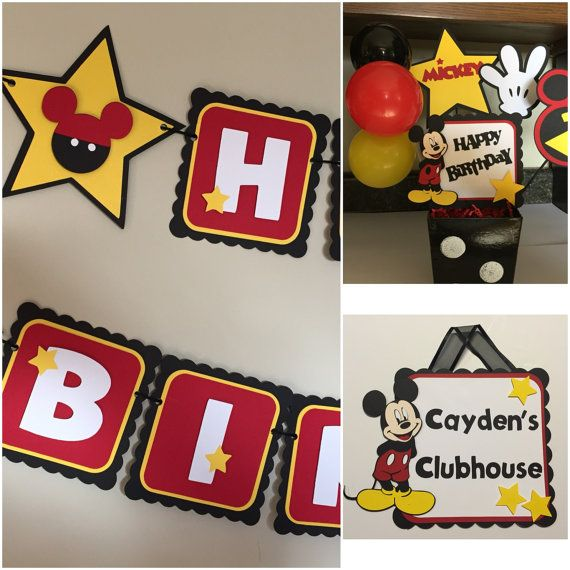 1000+ Ideas About Happy Birthday Mickey Mouse On Pinterest