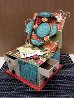 It's a Girl Thing!: Stella Easel Card with drawers #Stella #video at http://www.youtube.com/watch?v=x2aRpTP-6kI