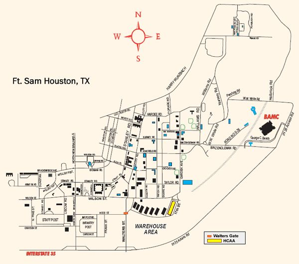 Cheap Military Flights to Fort Sam Houston, TX! Guaranteed ...