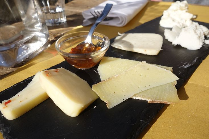 cheese plate at sorpasso