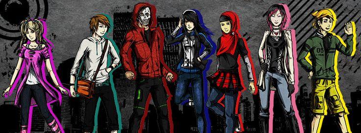 Urban Corps in Urban Agresor alpha comic