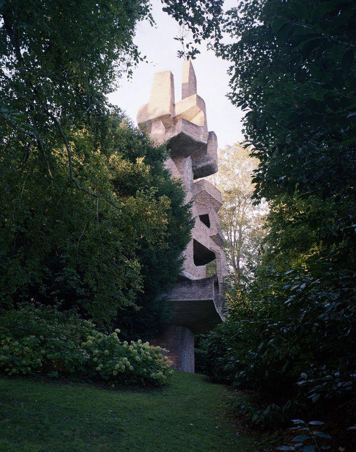 Les sculptures d'André Bloc à Meudon © Alexandre Guirkinger