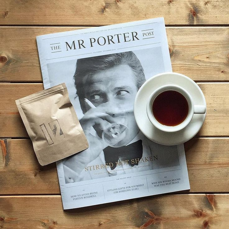 Specialty Coffee Advent Calendar (by @kaffebox)  Dec 12  Relaxing moments with the holiday issue of the @mrporter post and a fruity Kamiro Rwanda with some spice notes by @jacobsensvart. Weekends my love!  #kaffebox #kaffeboxjul #25cupsofchristmas #specialtycoffeeadventcalendar #mrporter #themrporterpost by lastguest_hh