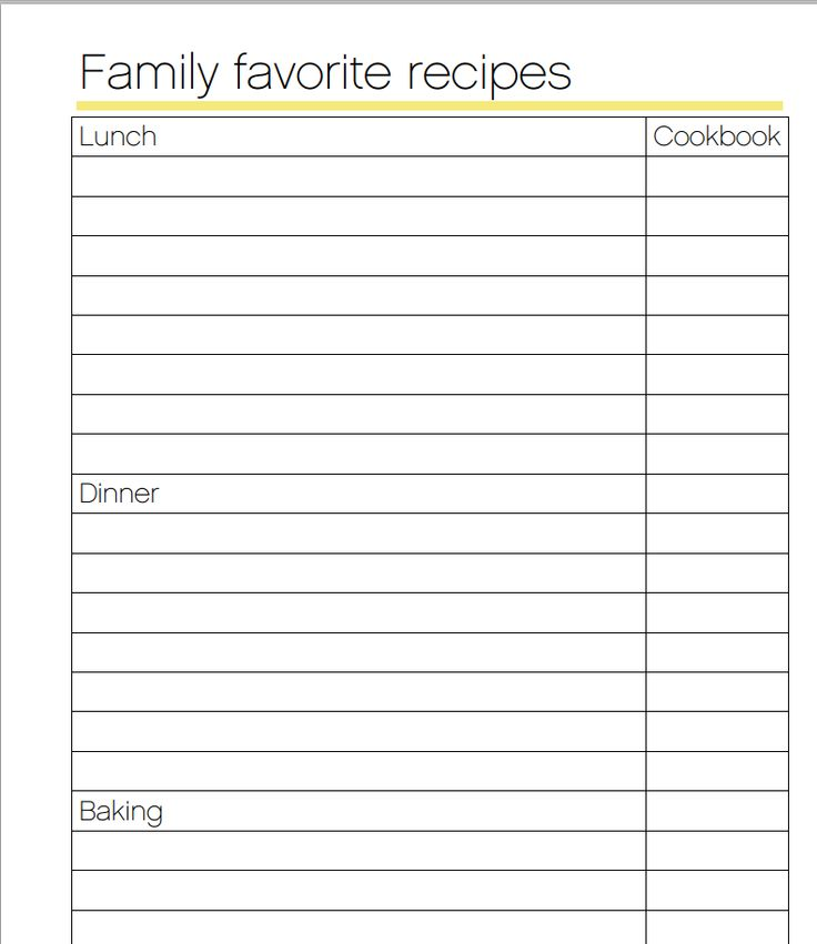 59 best Meal Plan Printables Organizing images on Pinterest - grocery list form