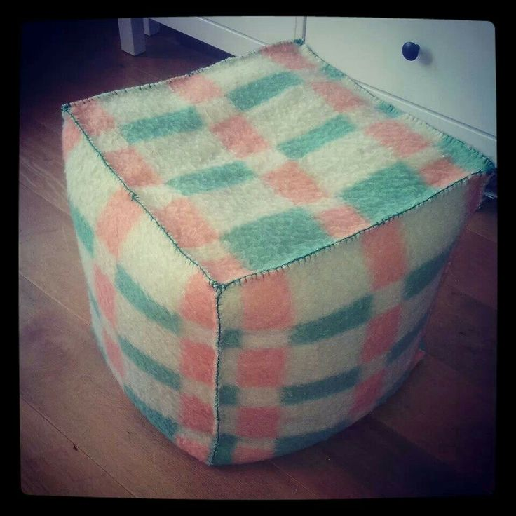 Van oude wollen deken