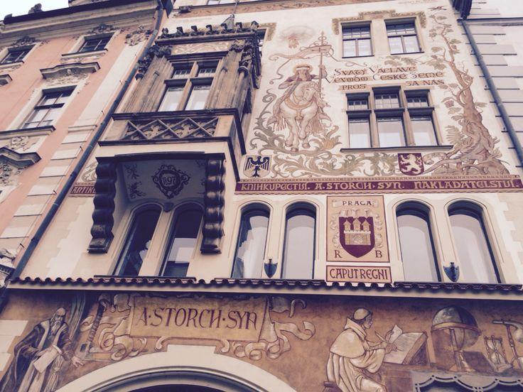 Prague, fasade