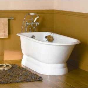 Sophisticated free standing 54 Inch Bathtub Center Drain & Simply chic bath brush  &