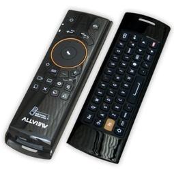 Telecomanda Allview All TV, Air Mouse si Minitastatura QWERTY, BlackMice, Minitastatura Qwerty, Android, Teclado Qwerty, Airmouse, Tvs, Black