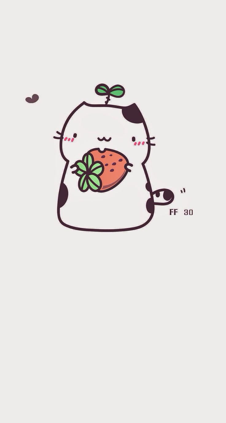 Strawberry cat :3