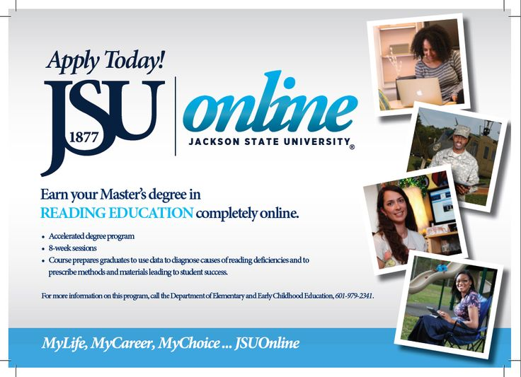 Reading Education, M.S. Online degree programs