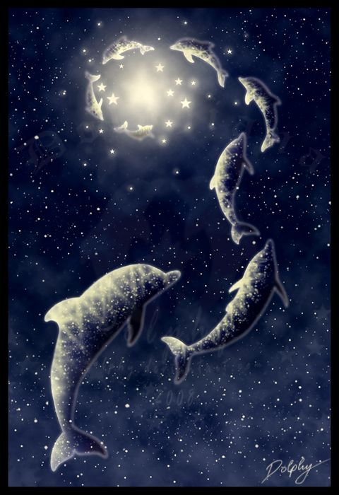 Follow the Stars by *DolphyDolphiana on deviantART - So Long and Thanks for all the Fish