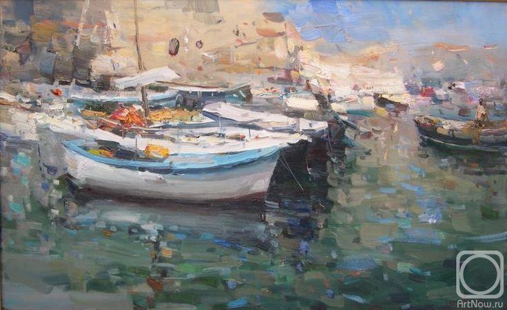 Makarov Vitaly. Fishing boats. Dubrovnik.