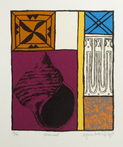 Placement 1999 Limited edition screenprint on paper